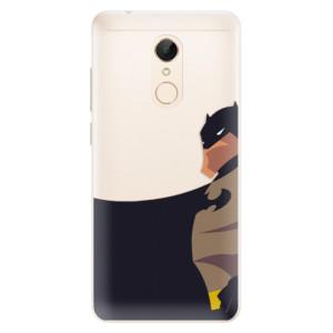 Silikonové pouzdro iSaprio (mléčně zakalené) BaT Komiks na mobil Xiaomi Redmi 5