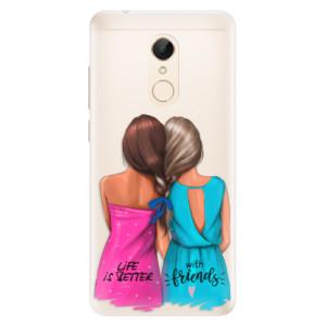 Silikonové pouzdro iSaprio (mléčně zakalené) Best Friends na mobil Xiaomi Redmi 5