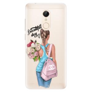 Silikonové pouzdro iSaprio (mléčně zakalené) Beautiful Day na mobil Xiaomi Redmi 5