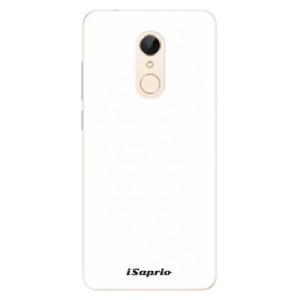 Silikonové pouzdro iSaprio 4Pure bílé na mobil Xiaomi Redmi 5