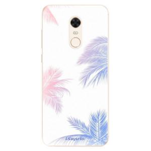 Silikonové pouzdro iSaprio (mléčně zakalené) Palmy 10 na mobil Xiaomi Redmi 5 Plus