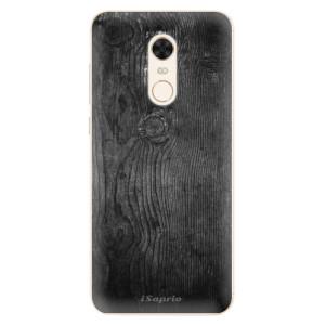 Silikonové pouzdro iSaprio (mléčně zakalené) Black Wood 13 na mobil Xiaomi Redmi 5 Plus