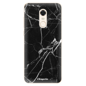 Silikonové pouzdro iSaprio (mléčně zakalené) Black Marble 18 na mobil Xiaomi Redmi 5 Plus