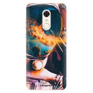 Silikonové pouzdro iSaprio (mléčně zakalené) Astronaut 01 na mobil Xiaomi Redmi 5 Plus