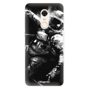 Silikonové pouzdro iSaprio (mléčně zakalené) Astronaut 02 na mobil Xiaomi Redmi 5 Plus