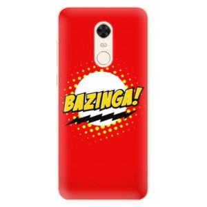 Silikonové pouzdro iSaprio (mléčně zakalené) Bazinga 01 na mobil Xiaomi Redmi 5 Plus