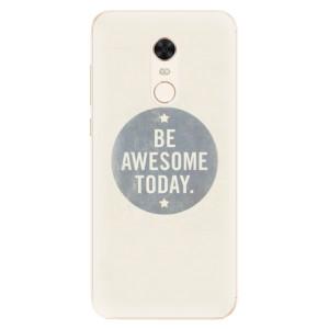 Silikonové pouzdro iSaprio (mléčně zakalené) Awesome 02 na mobil Xiaomi Redmi 5 Plus