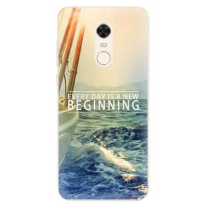 Silikonové pouzdro iSaprio (mléčně zakalené) Beginning na mobil Xiaomi Redmi 5 Plus
