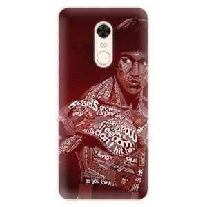 Silikonové pouzdro iSaprio (mléčně zakalené) Bruce Lee na mobil Xiaomi Redmi 5 Plus