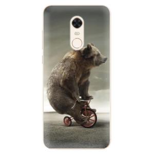 Silikonové pouzdro iSaprio (mléčně zakalené) Medvěd 01 na mobil Xiaomi Redmi 5 Plus