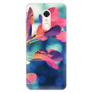 Silikonové pouzdro iSaprio (mléčně zakalené) Podzim 01 na mobil Xiaomi Redmi 5 Plus