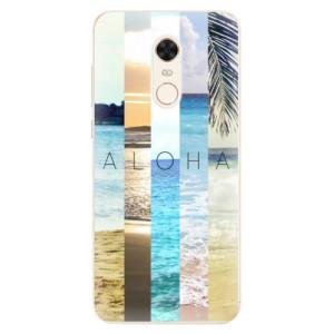 Silikonové pouzdro iSaprio (mléčně zakalené) Aloha 02 na mobil Xiaomi Redmi 5 Plus