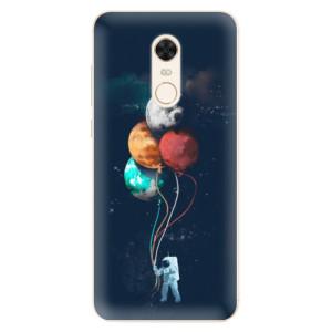Silikonové pouzdro iSaprio (mléčně zakalené) Balónky 02 na mobil Xiaomi Redmi 5 Plus