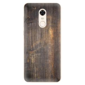 Silikonové pouzdro iSaprio (mléčně zakalené) Staré Dřevo na mobil Xiaomi Redmi 5 Plus