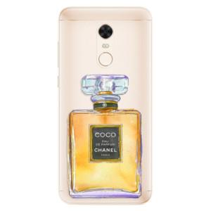 Silikonové pouzdro iSaprio (mléčně zakalené) Chanel Gold na mobil Xiaomi Redmi 5 Plus
