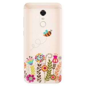 Silikonové pouzdro iSaprio (mléčně zakalené) Včelka Pája 01 na mobil Xiaomi Redmi 5 Plus