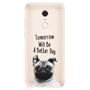 Silikonové pouzdro iSaprio (mléčně zakalené) Better Day 01 na mobil Xiaomi Redmi 5 Plus