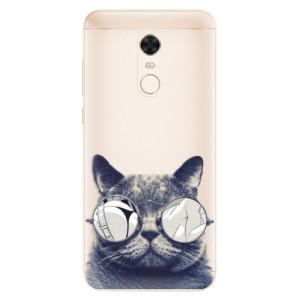 Silikonové pouzdro iSaprio (mléčně zakalené) Šílená Číča 01 na mobil Xiaomi Redmi 5 Plus