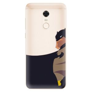 Silikonové pouzdro iSaprio (mléčně zakalené) BaT Komiks na mobil Xiaomi Redmi 5 Plus
