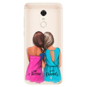 Silikonové pouzdro iSaprio (mléčně zakalené) Best Friends na mobil Xiaomi Redmi 5 Plus