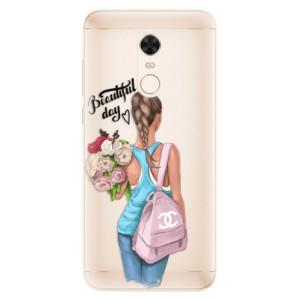 Silikonové pouzdro iSaprio (mléčně zakalené) Beautiful Day na mobil Xiaomi Redmi 5 Plus