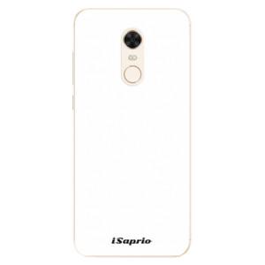 Silikonové pouzdro iSaprio 4Pure bílé na mobil Xiaomi Redmi 5 Plus