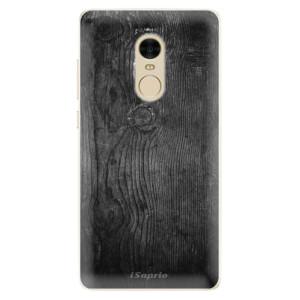 Silikonové pouzdro iSaprio (mléčně zakalené) Black Wood 13 na mobil Xiaomi Redmi Note 4