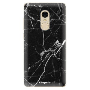 Silikonové pouzdro iSaprio (mléčně zakalené) Black Marble 18 na mobil Xiaomi Redmi Note 4