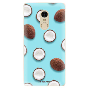 Silikonové pouzdro iSaprio (mléčně zakalené) Kokos 01 na mobil Xiaomi Redmi Note 4