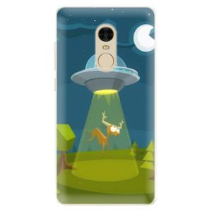 Silikonové pouzdro iSaprio (mléčně zakalené) Ufouni 01 na mobil Xiaomi Redmi Note 4