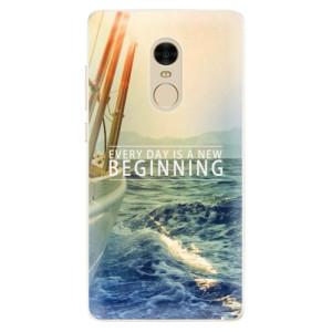Silikonové pouzdro iSaprio (mléčně zakalené) Beginning na mobil Xiaomi Redmi Note 4