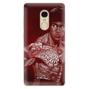 Silikonové pouzdro iSaprio (mléčně zakalené) Bruce Lee na mobil Xiaomi Redmi Note 4