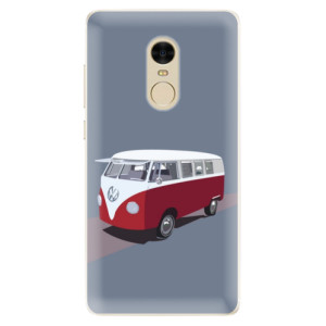 Silikonové pouzdro iSaprio (mléčně zakalené) VW Bus na mobil Xiaomi Redmi Note 4