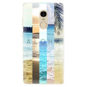 Silikonové pouzdro iSaprio (mléčně zakalené) Aloha 02 na mobil Xiaomi Redmi Note 4