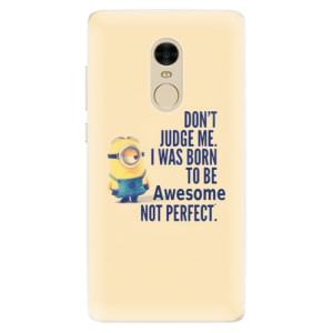 Silikonové pouzdro iSaprio (mléčně zakalené) Be Awesome na mobil Xiaomi Redmi Note 4