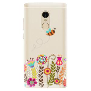 Silikonové pouzdro iSaprio (mléčně zakalené) Včelka Pája 01 na mobil Xiaomi Redmi Note 4