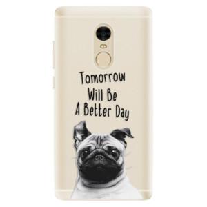 Silikonové pouzdro iSaprio (mléčně zakalené) Better Day 01 na mobil Xiaomi Redmi Note 4