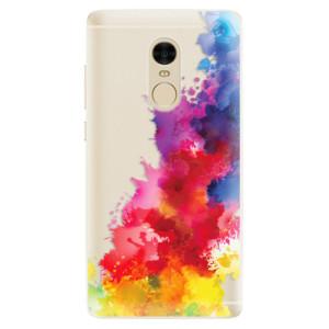 Silikonové pouzdro iSaprio (mléčně zakalené) Color Splash 01 na mobil Xiaomi Redmi Note 4
