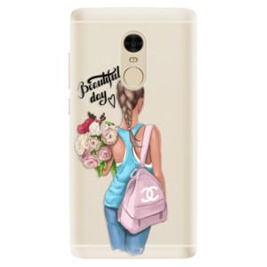 Silikonové pouzdro iSaprio (mléčně zakalené) Beautiful Day na mobil Xiaomi Redmi Note 4