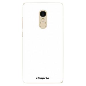 Silikonové pouzdro iSaprio 4Pure bílé na mobil Xiaomi Redmi Note 4