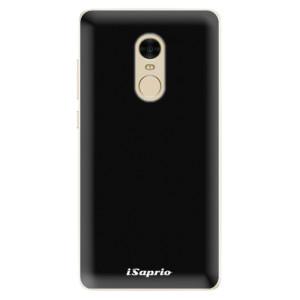 Silikonové pouzdro iSaprio 4Pure černé na mobil Xiaomi Redmi Note 4