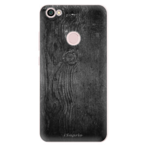 Silikonové pouzdro iSaprio (mléčně zakalené) Black Wood 13 na mobil Xiaomi Redmi Note 5A / 5A Prime