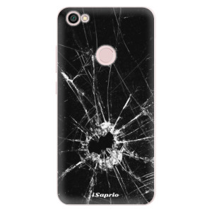 Silikonové pouzdro iSaprio (mléčně zakalené) Broken Glass 10 na mobil Xiaomi Redmi Note 5A / 5A Prime
