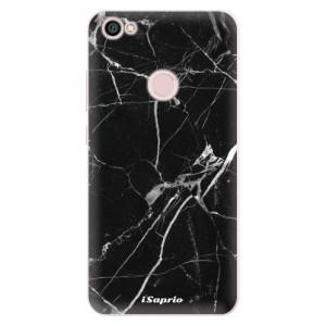 Silikonové pouzdro iSaprio (mléčně zakalené) Black Marble 18 na mobil Xiaomi Redmi Note 5A / 5A Prime