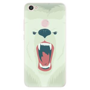 Silikonové pouzdro iSaprio (mléčně zakalené) Naštvanej Medvěd na mobil Xiaomi Redmi Note 5A / 5A Prime