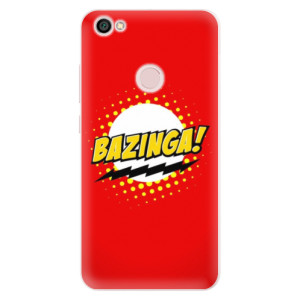 Silikonové pouzdro iSaprio (mléčně zakalené) Bazinga 01 na mobil Xiaomi Redmi Note 5A / 5A Prime