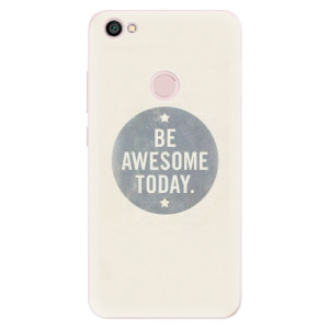 Silikonové pouzdro iSaprio (mléčně zakalené) Awesome 02 na mobil Xiaomi Redmi Note 5A / 5A Prime