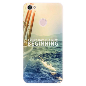 Silikonové pouzdro iSaprio (mléčně zakalené) Beginning na mobil Xiaomi Redmi Note 5A / 5A Prime