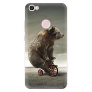 Silikonové pouzdro iSaprio (mléčně zakalené) Medvěd 01 na mobil Xiaomi Redmi Note 5A / 5A Prime