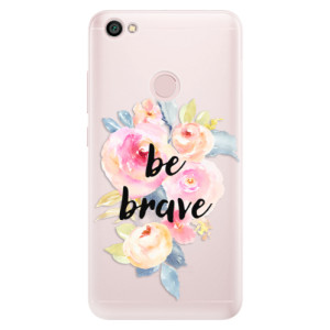 Silikonové pouzdro iSaprio (mléčně zakalené) Be Brave na mobil Xiaomi Redmi Note 5A / 5A Prime